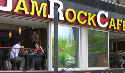 WE2 invite you to join us at JamRockCafé – 5390 Queen Mary, Montreal, Quebec, Canada, H3X 1V3