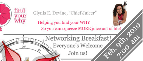 We2 Networking Breakfast in Montreal!!! - February 9, 2011