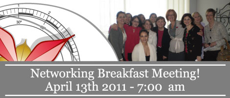 We2 Networking Breakfast in Montreal!!! - April 13, 2011