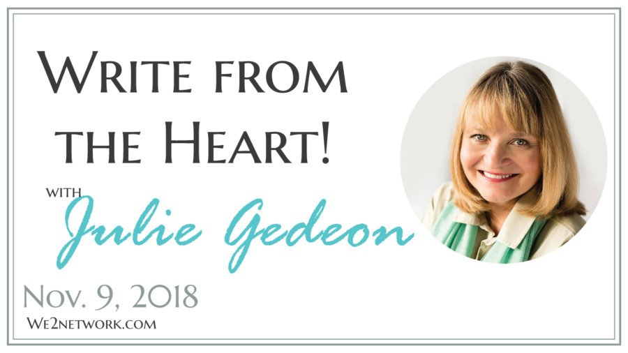 We2 Meet Julie Gedeon, the founder of Eloquence, has 30-plus years of experience in writing and editing for various magazines and good-purpose organizations.