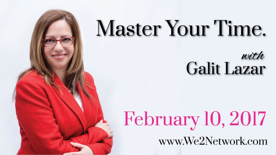 Master yout time :: We2 Meet Feb 10