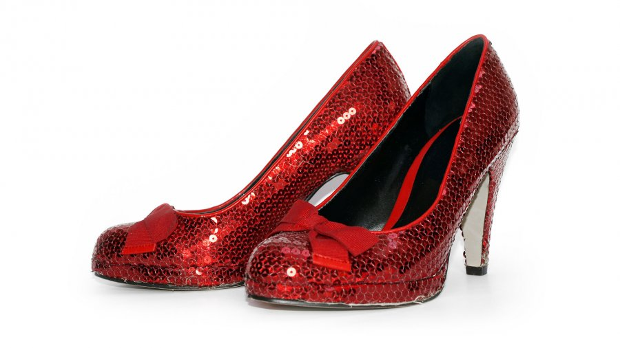Strap on those red shoes…you're going to Oz