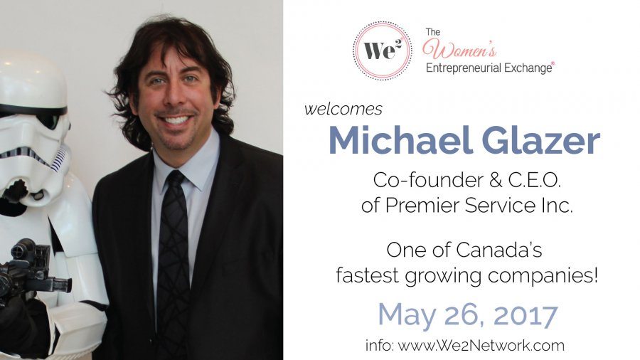 Michael Glazer, co-founder and CEO of Premier Service Inc.