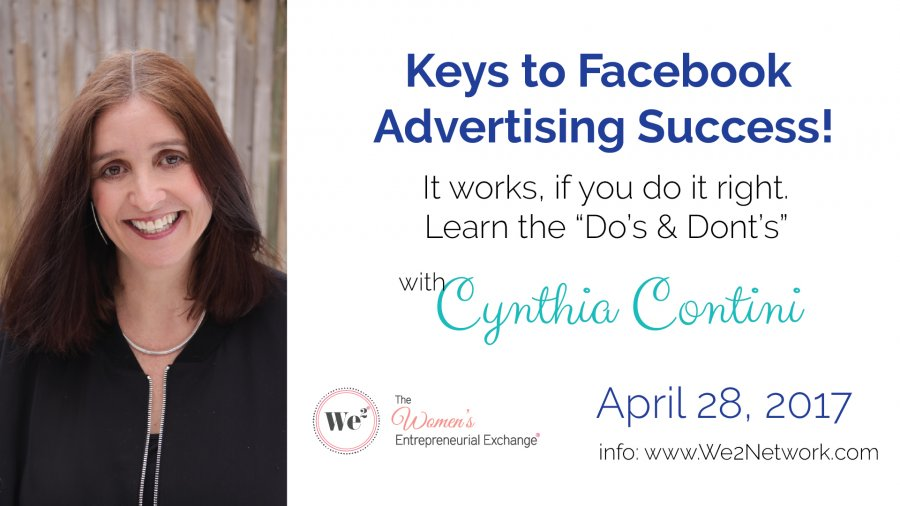Keys to Facebook Advertising Success.