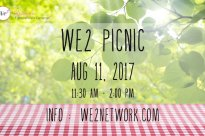 We2 Annual Picnic Party :: August 11th, 2017