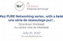 We2 Networking Downtown Montreal :: We2 arrive au centre-ville de Montréal