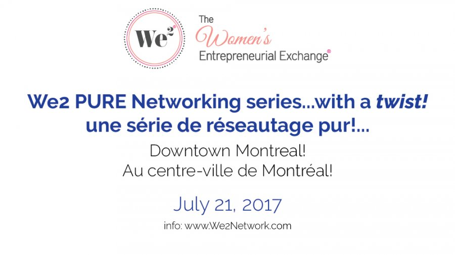 We2 Networking Downtown Montreal :: We2 arrive au centre-ville de Montréal