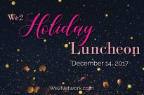 We2 Holiday Luncheon 2017