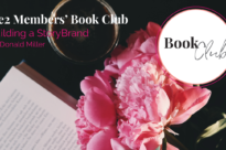 Building a StoryBrand by Donald Miller We2 Book Club