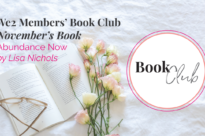 Abundance Now by Lisa Nichols We2 Book Club