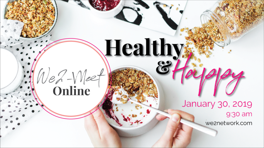 We2 Meet Online - Happy & Healthy workshop