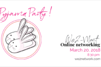 We2 Pyjama Party!!! March 20 2019