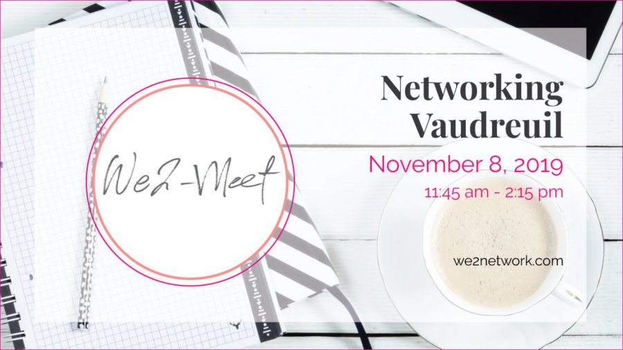 Pure Networking We2Network - Vaudreuil