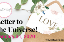 Letter to the Universe! 2020