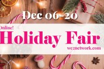 We2 Holiday Fair – Online