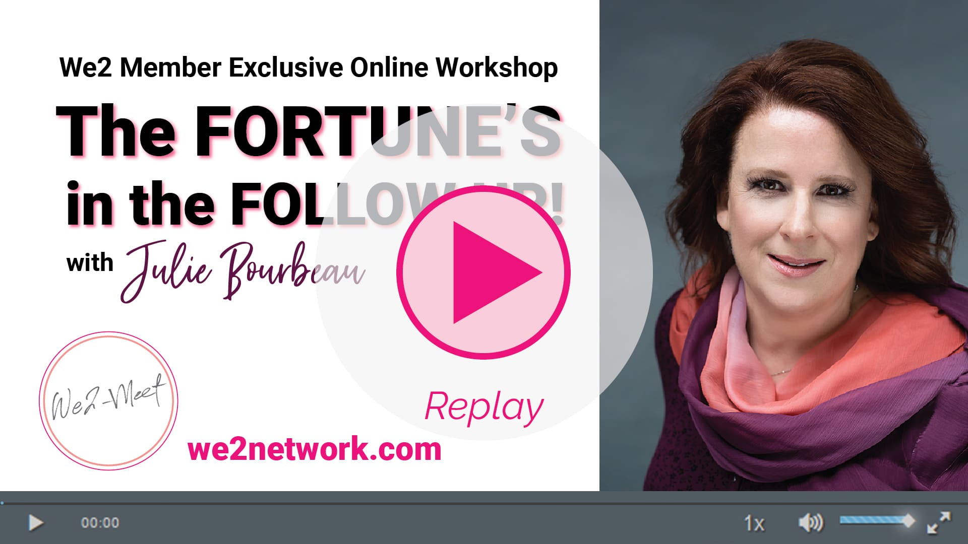 Click Here to Watch the Replay of the workshop now!