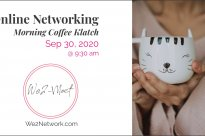 We2 Online Networking Morning Coffee Klatch – Sep 30 2020