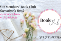 Abundance Now – Online Book Club coffee meeting!