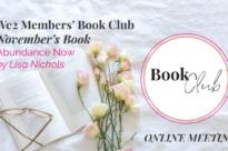 Abundance Now – Online Book Club coffee meeting!