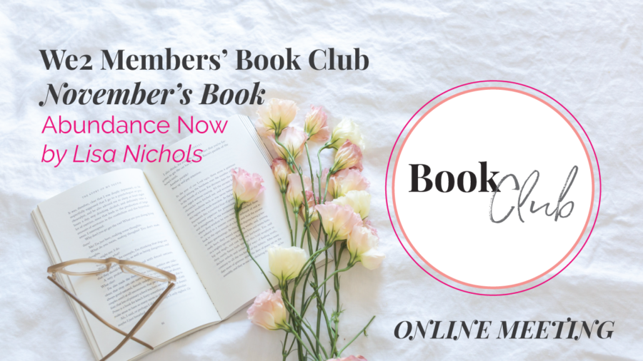 We2 Book Club Online Meeting :