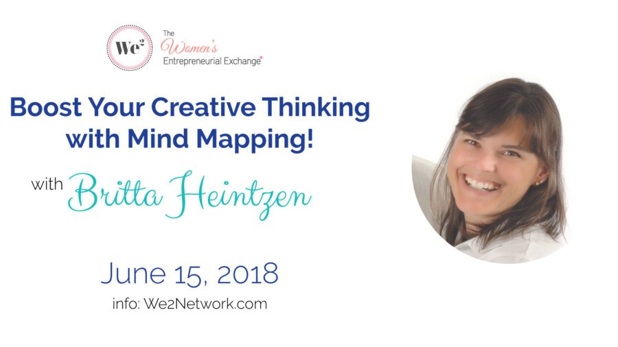 Boost your creative thinking potential with mind mapping! with Britta Heintzen