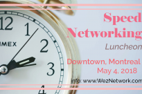 We2 Meet Downtown Montreal May 4, 2018